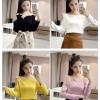 เสื้อแขนยาวแฟชั่น สวยเก๋สไตล์สาวเกาหลี ด้วยดีไซน์แบบใหม่ ทำให้ดูหรูหรา สวยเริ่ด ไปเลยคร่าสาวๆ