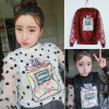 เสื้อแฟชั่นเกาหลี ทรงแขนยาว สีสันและลวดลายอินเทรนด์ เหมาะสำหรับสาวๆ หาชุดออกนอกบ้านจิงๆ
