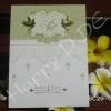 SC29-0208 การ์ดแต่งงานแบบเรียบหรู