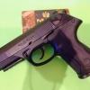 Kimar PK4 / Beretta PX4 Black , cal. 9mm P.A. Blank Gun
