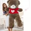 ตุ๊กตาหมีสวมเสื้อหัวใจ Loves