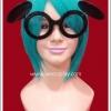 แว่นตามิคกี้เมาส์ของเลดี้กาก้า สีดำ Lady Gaga's Mickey Mouse Eye Glasses