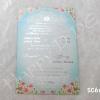 SC6686 การ์ดแต่งงานราคาไม่เกิน 8.50 บ (มี 2 สี)