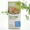 Drontal Cat ยาถ่ายพยาธิแมว (4 เม็ด 220)