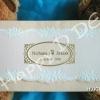 HWC5103 การ์ดแต่งงาน 3 พับ แนวนอน