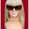 แว่นเลดี้กาก้า ลายเสือ สีน้ำตาลดำ Lady Gaga's Eye Glasses