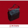 กระเป๋าสะพายโกธิคพั้งค์ ทรงบ้าน สีดำ Black House Gothic Punk Bag