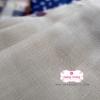 ผ้าลินิน สีครีม ขนาด 1/4 ม.(50x55ซม.)