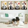 ภาพพิมพ์ศิลปะ Hi-End แจกันม้าลาย 1ชุดได้ 4ภาพ Art-Ea