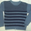 Knit Sweater with Stripes (kid's freesize)
