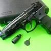 Ekol Baretta M92/Firat Magnum Black Front Firing 9 mm.PAK. Blank Gun Gen.1