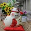 ตุ๊กตาเซรามิคน่ารักๆ แมวกวักนำโชค กวนอู ไซอิ๋ว ฮกลกซิ่ว