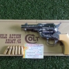 HWS Single Action Army .45 Tubed Sheriffs With RoundGrip Model cap gun (Silver)