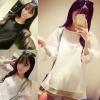 เสื้อแฟชั่นเกาหลี แขนยาวผ้าชีฟอง บางเบา สวยทุกมิติ