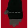 ถุงมือพังค์ สีดำ Punk Black Gloves