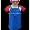 ชุดหนูน้อยอาราเล่ สำหรับเด็ก Arale Doctor Slump Cosplay Costume for Kids