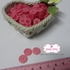 กระดุมพลาสติกสีชมพู ขนาด 1.2 ซ.ม. จำนวน 12 เม็ด(1โหล)
