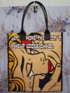 กระเป๋าผ้าcanvas สกรีนลาย popart2