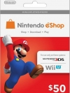 Nintendo eShop Card 50 US