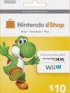 Nintendo eShop Card 10 US