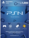 PSN Card Thai 1000 THB