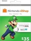 Nintendo eShop Card 35 US