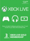 Xbox Live Gold Membership US 3 month