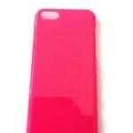 เคสไอโฟน5C กรอบแข็งสีชมพู (Hard Case)