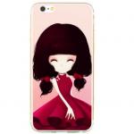 เคสไอโฟน 6 / 6s (TPU CASE) สาวเกาหลีน่ารัก แบบ 2