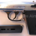 Kimar Lady K (Walther PPK) Nickel Top Firing 8mm.PAK Blank gun