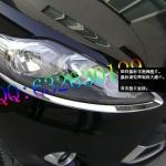FJ-005 ครอบไฟหน้าโครมเมียม Ford Fiesta