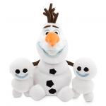 Olaf and Snowgies Plush Bundle - Mini Bean Bag - 8'' - Frozen Fever
