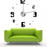 นาฬิกาติดผนัง DIY ขนาด 120ซม. time07