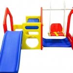 ชิงช้า สไลเดอร์ ปีนป่าย Play House with Swing (นำเข้าจากเกาหลี) (Haenim)