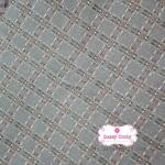ผ้าทอญี่ปุ่น 1/4ม.(50x55ซม.) สีเทาครีม เล่นลายด้าย