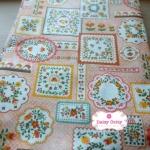 ผ้าคอตตอนเกาหลีแท้ 100% 1/4 เมตร (50x55 cm.)
