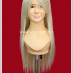 วิกผมเลดี้กาก้า สีบลอนด์ซีด Lady Gaga Cosplay Wig
