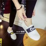 *Pre Order* สินค้านำเข้า/รองเท้าแฟชั่นผ้าใบ สไตล์เกาหลี size 35-39