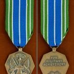 เหรียญตรา สหรัฐอเมริกา ชนิด Achievement Medal ใช้แล้ว 1 เหรียญ