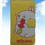 เคสไอโฟนกระเป๋าไอโฟน4/4s ลายกระต่าย MOLANG น่ารัก แบบ 2