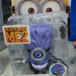 Chomping Purple Minion Deluxe Figure Action