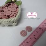 กระดุมพลาสติกสีชมพูม่วง ขนาด 1.5 ซ.ม. จำนวน 12 เม็ด(1โหล)