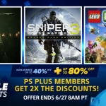 PSN Store US - Double Discount Sale