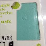 ฟิล์มกันรอยกากเพชรสำหรับไอโฟน 4/4s สีฟ้าน้ำทะเล