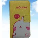 เคสไอโฟนกระเป๋าไอโฟน4/4s ลายกระต่าย MOLANG น่ารัก แบบ 4