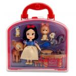 Disney Animators' Collection Snow White Mini Doll Play Set - 5''