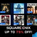 PSN Store US - Square Enix Sale 75%