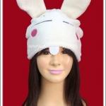 หมวกกระต่าย สีขาว Bunny Fancy Hat