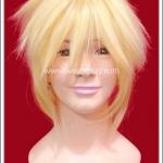วิกผมเร็น โวคาลอยด์ สีเหลือง Len Vocaloid Cosplay Wig