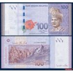ธนบัตรประเทศ มาเลเซียชนิดราคา 100 RINGGIT (ริงกิต) ของแท้ใหม่เอี่ยม ยังไม่ใช้ สินค้าหมดชั่วคราว